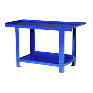 57-Inch Heavy Duty Steel Workbench