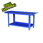 International 72-Inch Heavy Duty Steel Workbench