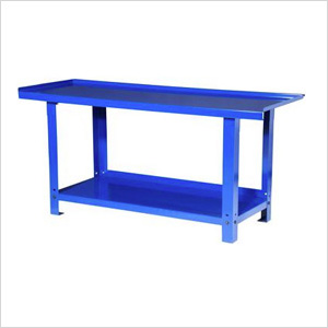 72-Inch Heavy Duty Steel Workbench