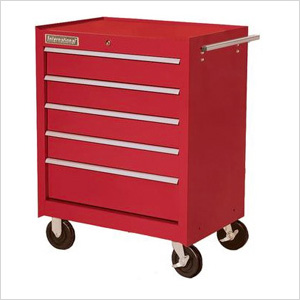 27-Inch 5-Drawer Tool Cabinet