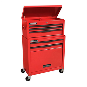 24-Inch 5-Drawer Roller Tool Cabinet Combo