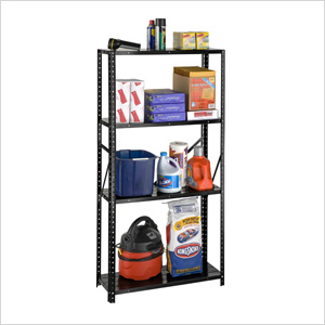 30-Inch 4-Shelf Bolted Shelving System
