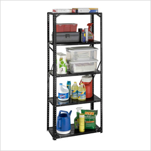30-Inch 5-Shelf Bolted Shelving System