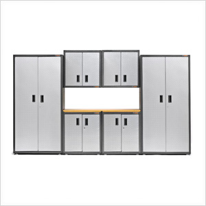 8-Piece RTA Garage Cabinet Set