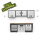 Gladiator GarageWorks 14-Piece Premier Garage Cabinet Set