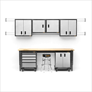 14-Piece Premier Garage Cabinet Set
