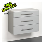 "Prepac HangUps 3-Drawer 30"" Base Storage Cabinet"