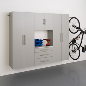 "HangUps 90"" Storage Cabinet Set G - 4pc"
