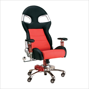 LXE Office Chair (Red)