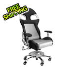 Pitstop Furniture LXE Office Chair (Silver)