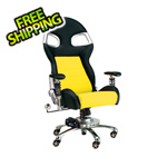 Pitstop Furniture LXE Office Chair (Yellow)