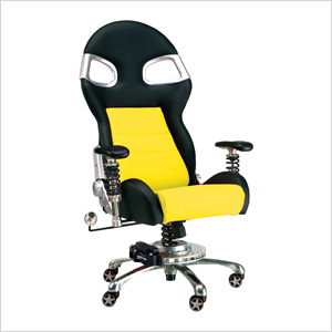 LXE Office Chair (Yellow)