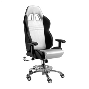GT Office Chair (Silver)