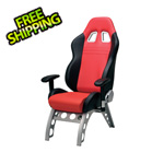 Pitstop Furniture GT Receiver Chair (Red)