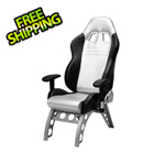 Pitstop Furniture GT Receiver Chair (Silver)