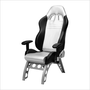 GT Receiver Chair (Silver)