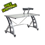 Pitstop Furniture GT Spoiler Desk (Clear)