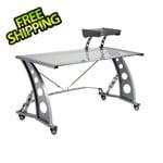 Pitstop Furniture GT Spoiler Desk (Clear)