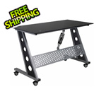 Pitstop Furniture Compact Desk (Black)