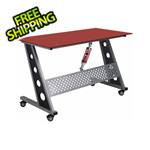 Pitstop Furniture Compact Desk (Red)