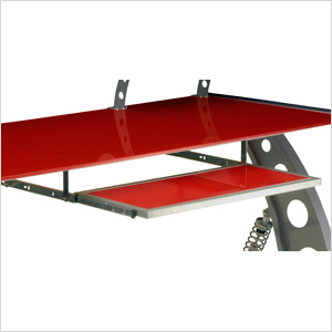 GT Spoiler Desk Pull Out Tray (Red)