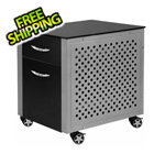 Pitstop Furniture File Cabinet (Black)