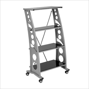 Chicane Bookshelf (Black)