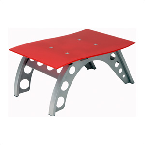 Chicane Side Table (Red)