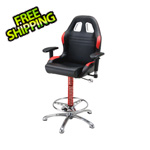 Pitstop Furniture Crew Chief Bar Chair (Red)