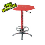 Pitstop Furniture Crew Chief Bar Table (Red)