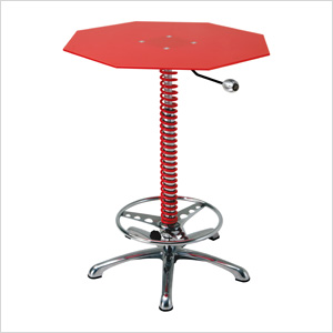Crew Chief Bar Table (Red)