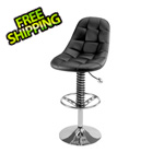 Pitstop Furniture Pit Crew Bar Chair (Black)