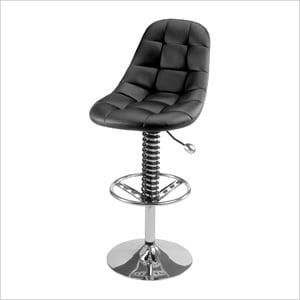 Pit Crew Bar Chair (Black)
