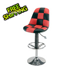 Pitstop Furniture Pit Crew Bar Chair (Red)