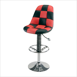 Pit Crew Bar Chair (Red)