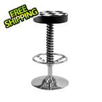 Pitstop Furniture Crew Bar Stool (Checkered)