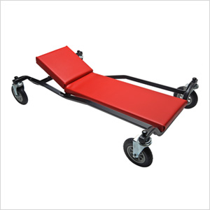 40-Inch Creeper with No-Matic Rollers and Adjustable Headrest