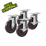 NewAge Products PERFORMANCE PLUS / PRO 4-Inch Casters (Set of 4)