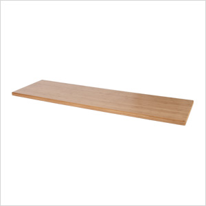 6-Foot Bamboo Work Surface
