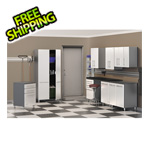 Ulti-MATE Cabinets 9-Piece Cabinet Kit in Starfire Pearl