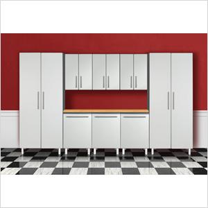 9-Piece Garage Cabinet System