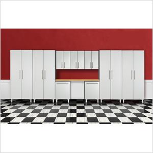 10-Piece Garage Cabinet System