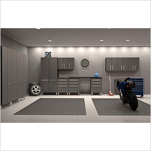 12-Piece Garage Cabinetry System