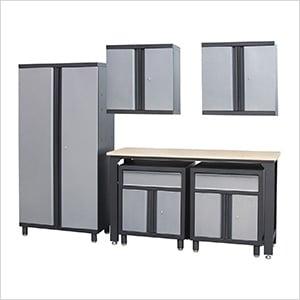 6 Piece Garage Cabinet Set