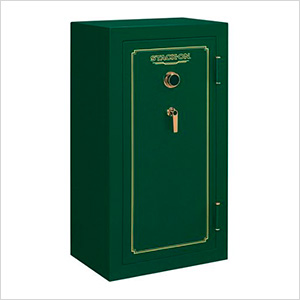 Fire Resistant 24-Gun Safe with Combination Lock