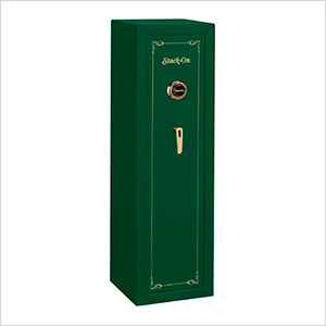 10-Gun Safe with Combination Lock