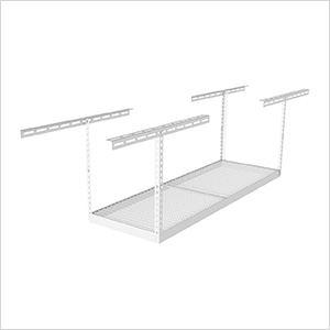 "2'x6' Overhead Storage Rack 18""-33"" Drop"
