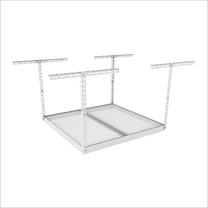 "4'x4' Overhead Storage Rack 18""-33"" Drop"