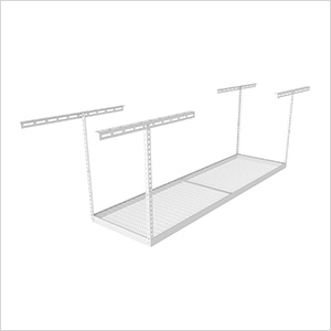"3'x8' Overhead Storage Rack 24""-45"" Drop"