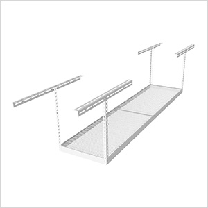 "2'x8' Overhead Storage Rack 18""-33"" Drop"